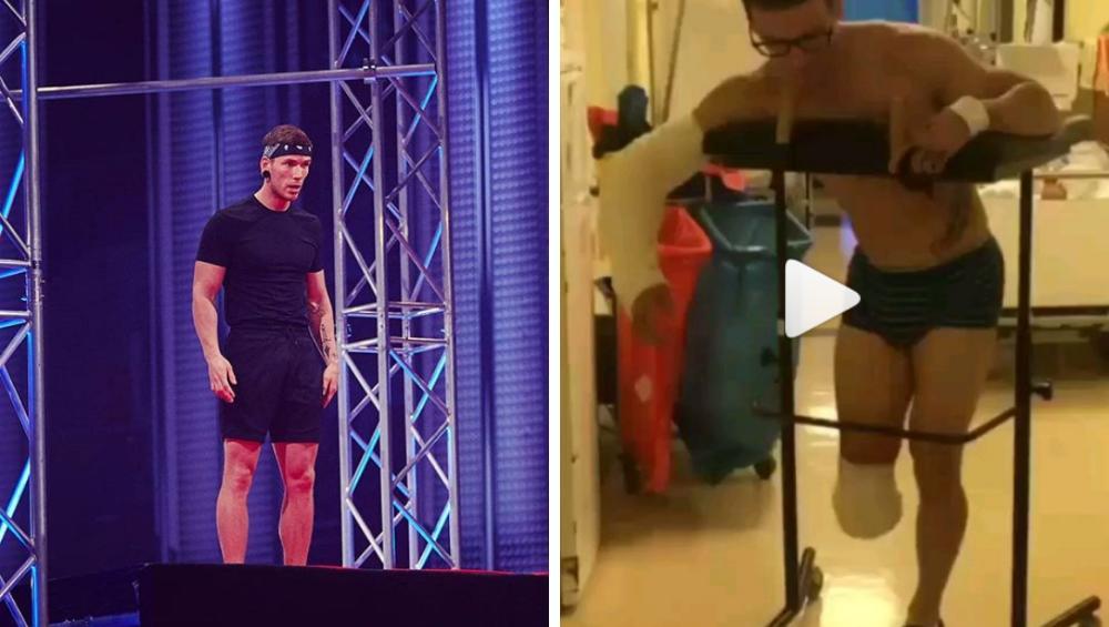 Uczestnik Ninja Warrior uległ strasznemu wypadkowi przed emisją programu