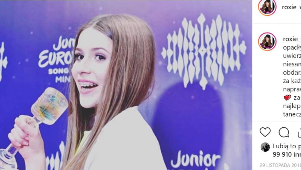 Eurowizja Junior 2019: w TEJ sukience Roksana Węgiel wystąpi na scenie!