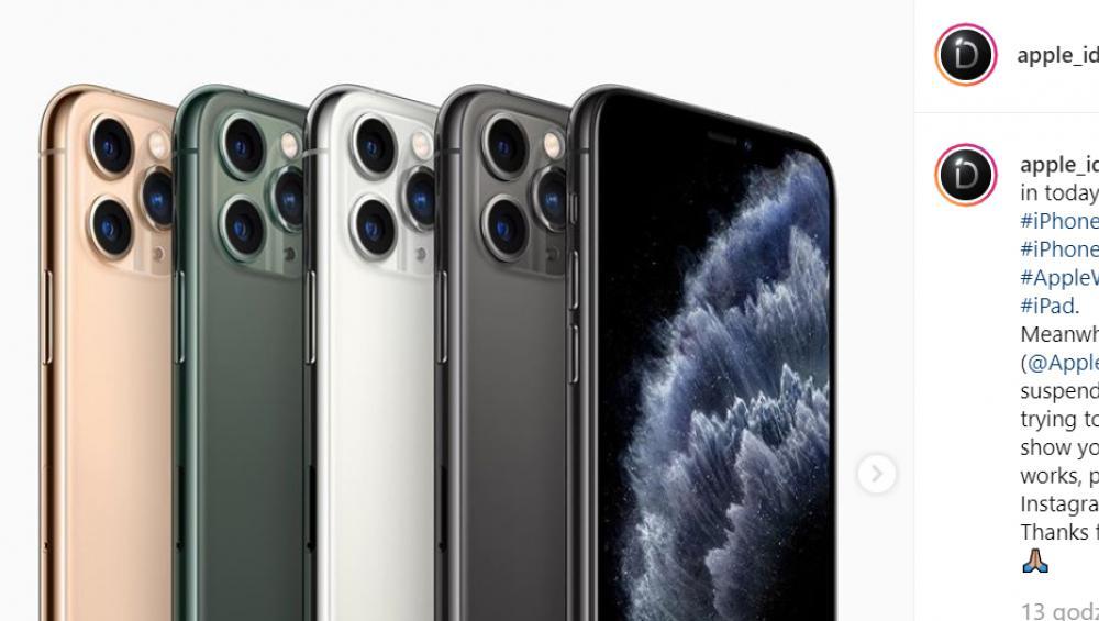 Iphone 11, 11 Pro i 11 Pro Max – ceny i wygląd nowych modeli Apple