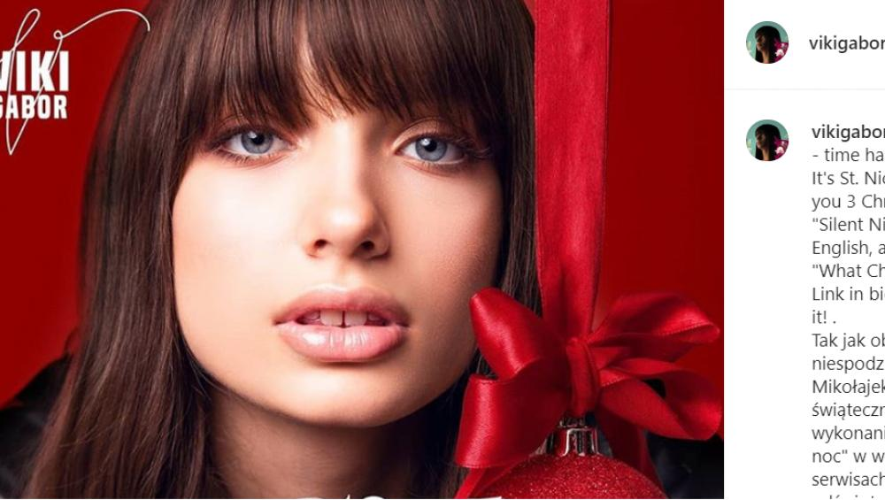 Viki Gabor – Cicha Noc w pięknej wersji! [KOLĘDY 2019]