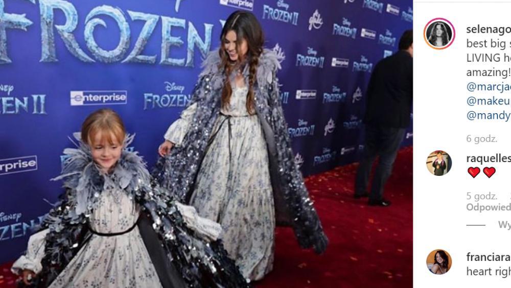 Kraina Lodu 2: Selena Gomez na premierze z siostrą wyglądały obłędnie! [ZDJĘCIA]