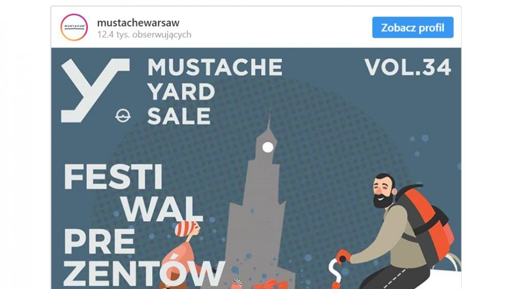 Prezenty na Święta czekają na Mustache Yard Sale! [LISTA WYSTAWCÓW]
