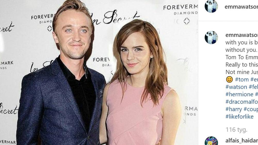 Harry Potter: Emma Watson i Tom Felton byli PARĄ na planie?!