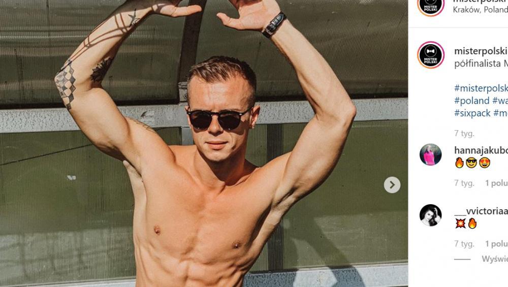 Daniel Borzewski: oto nowy Mister Polski! [WIEK, INSTAGRAM]