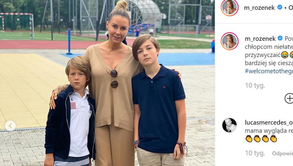 Syn Małgorzaty Rozenek jest ZAKOCHANY! Ma 13 lat