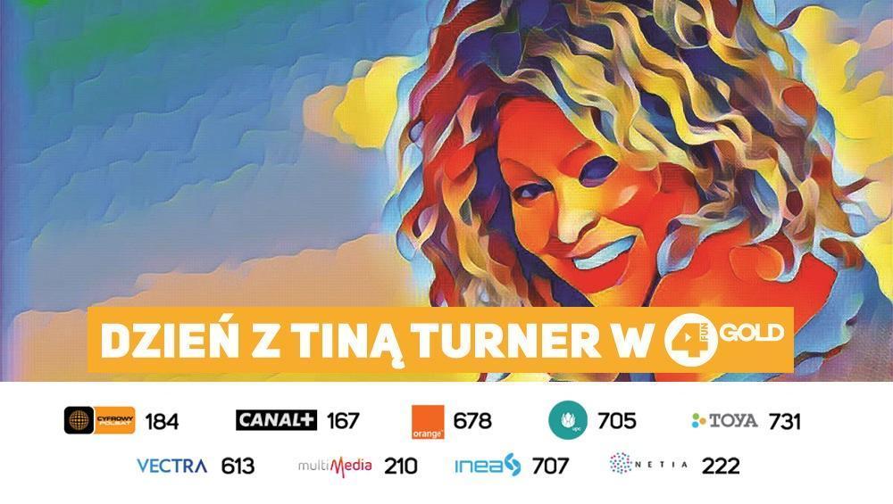 Dzień z Tiną Turner w 4FUN GOLD