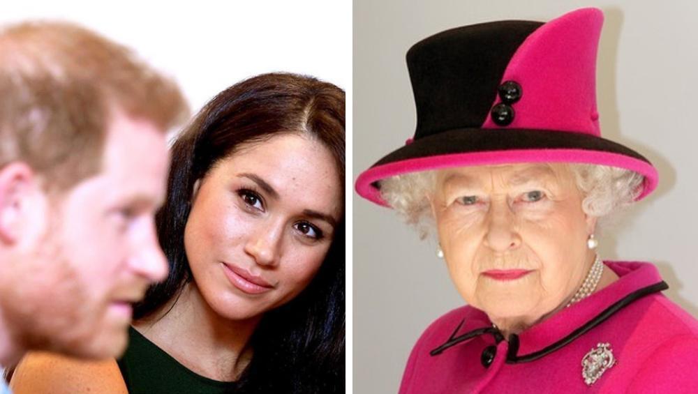 Meghan i Harry na wojennej ścieżce z królową Elżbietą. Poszło o tytuł 'Royal'