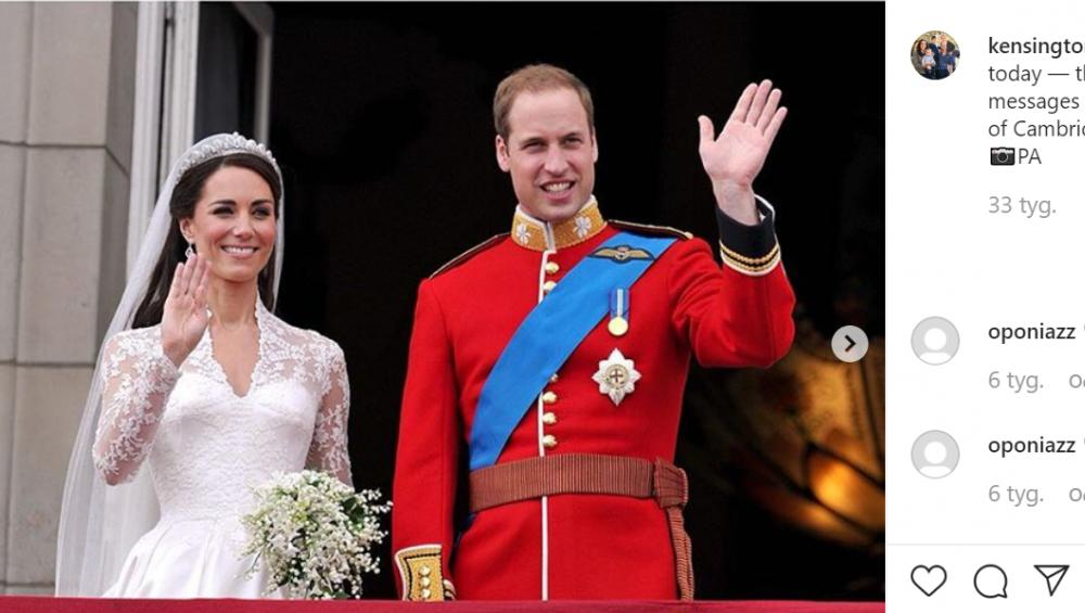 Książę William i księżna Kate są… kuzynami! Wiedzieliście o tym?