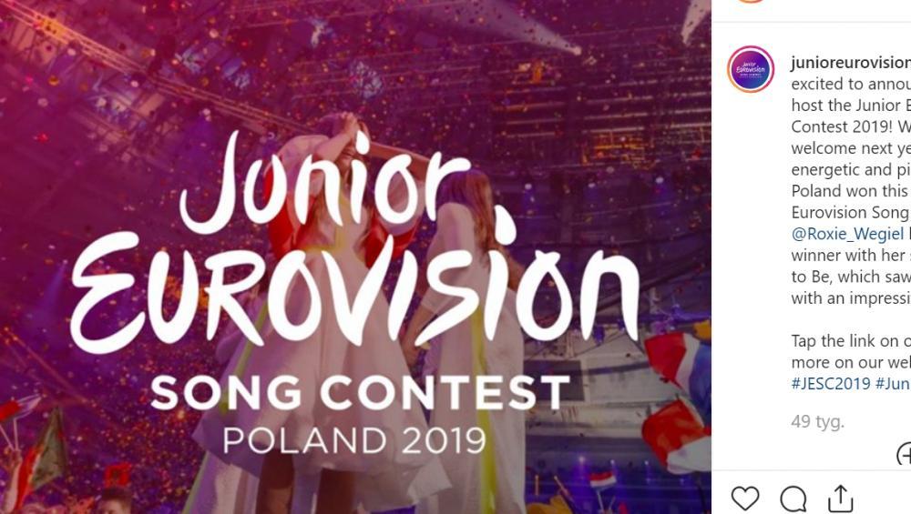 Wpadka w czasie transmisji Eurowizji Junior 2019. Prezenter straci pracę?