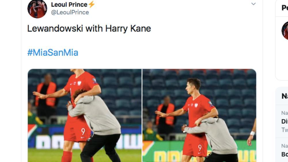 15-latek wbiegł na boisko i przytulił Lewandowskiego. Czeka go surowa kara
