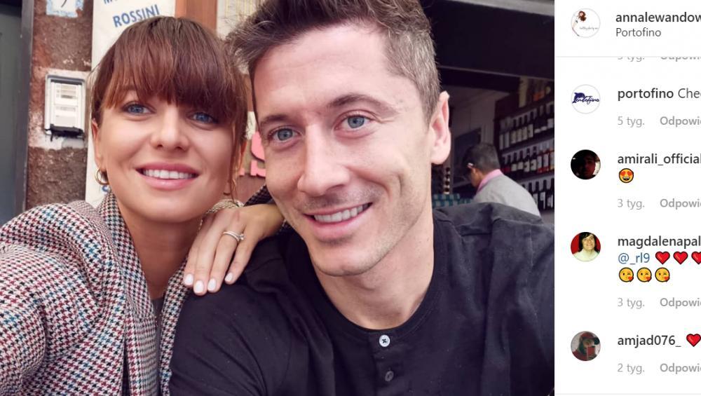 Ania Lewandowska w drugiej ciąży. Pamiętacie jak Robert ogłosił pierwszą? [VIDEO]