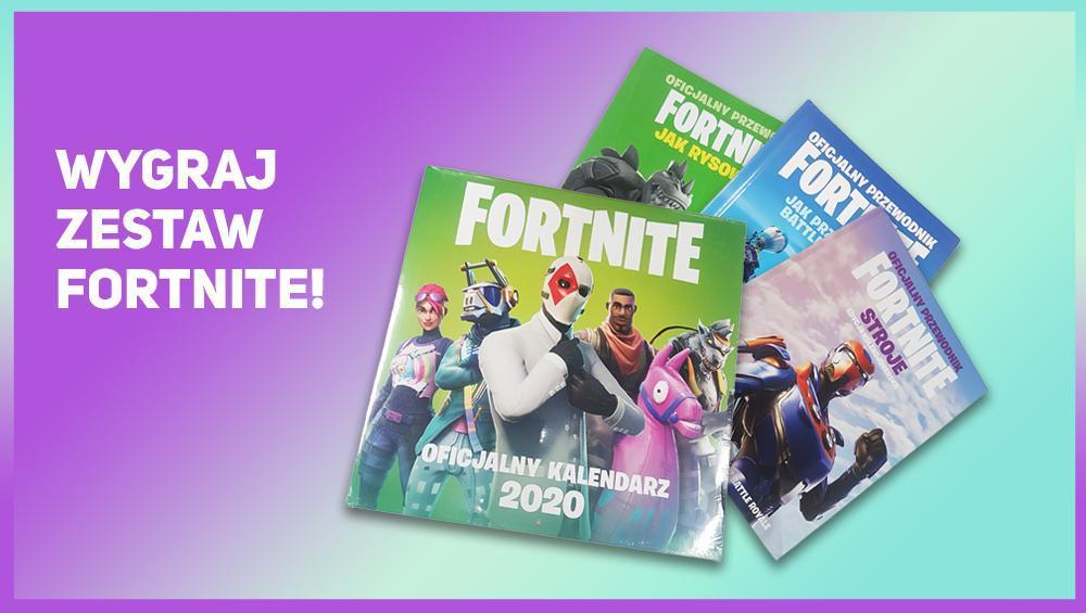 Wygraj zestaw oficjalnych książek Fortnite!