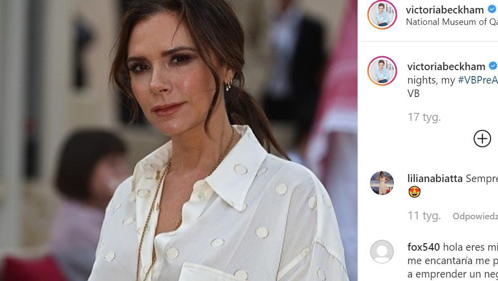 Victoria Beckham pozuje dla polskiego czasopisma! [ZDJĘCIA]