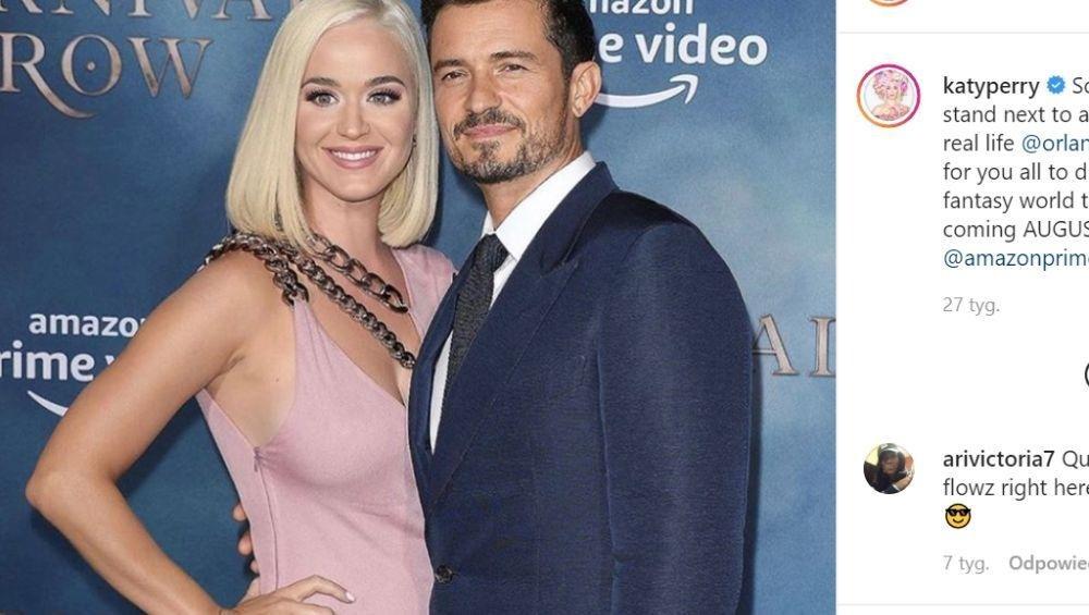 Katy Perry jest w ciąży! Ogłosiła to jak Ewa Farna