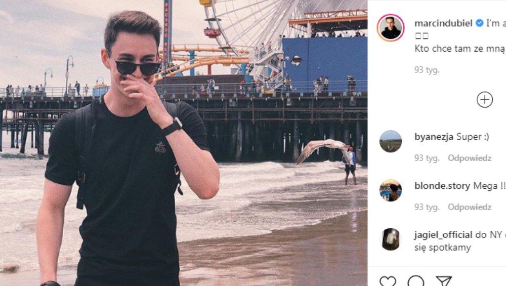 Polski youtuber udawał, że jest za granicą. Niestety słabo mu to wyszło