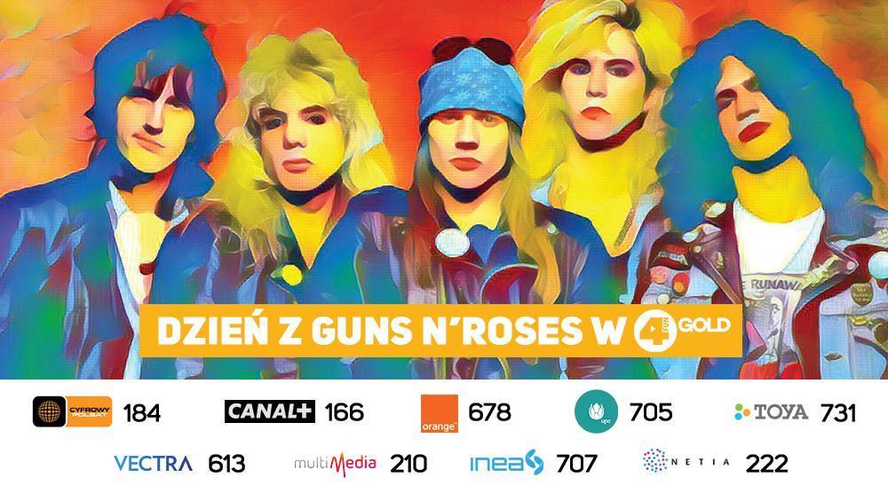 Dzień z Guns N'Roses w 4FUN Gold