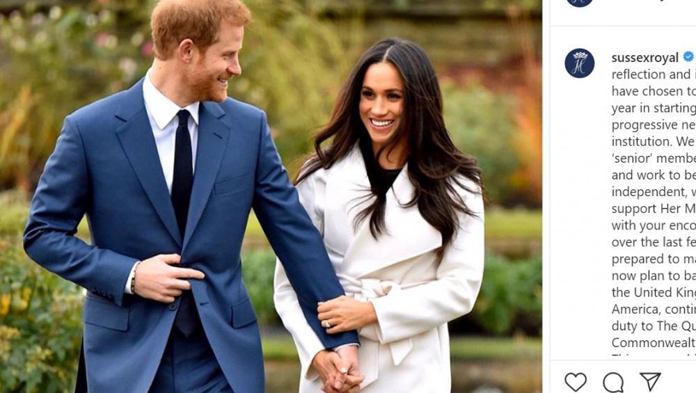 Meghan Markle i książę Harry odchodzą z rodziny królewskiej! Wydali oświadczenie