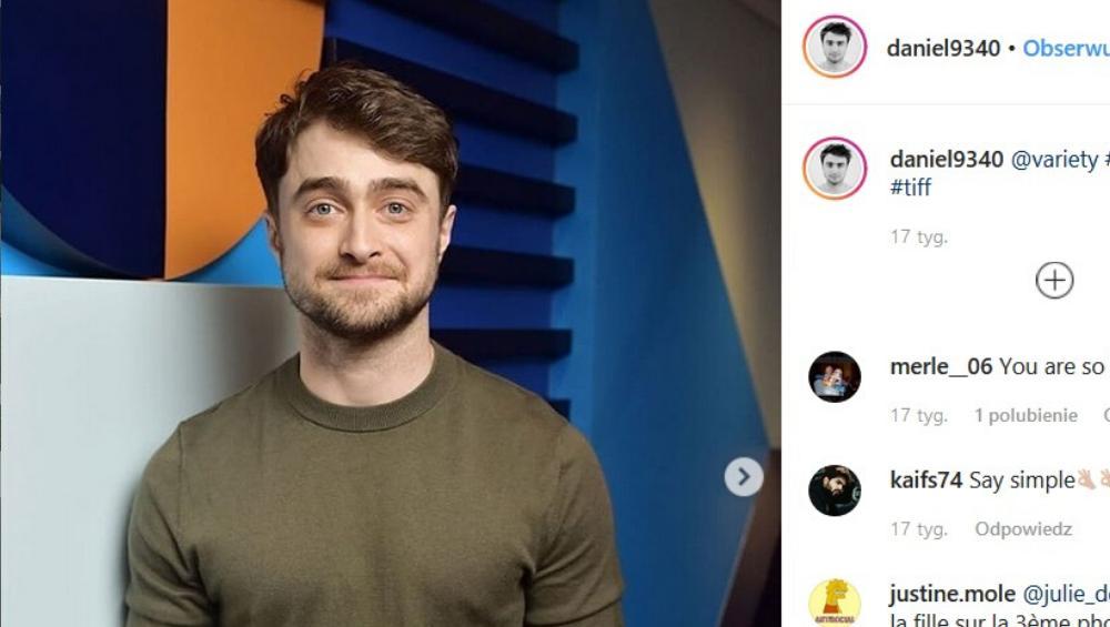 Daniel Radcliffe pomylony z... bezdomnym!