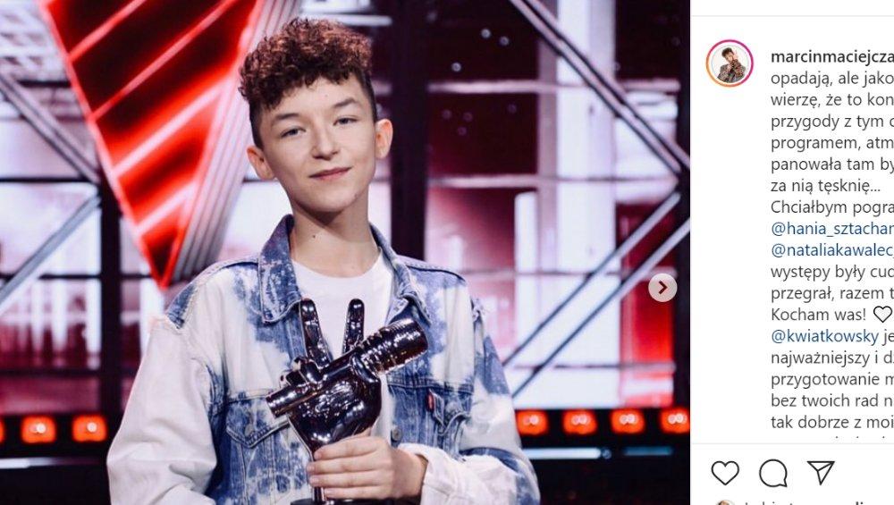 Eurowizja Junior 2020: Marcin Maciejczak komentuje swój udział
