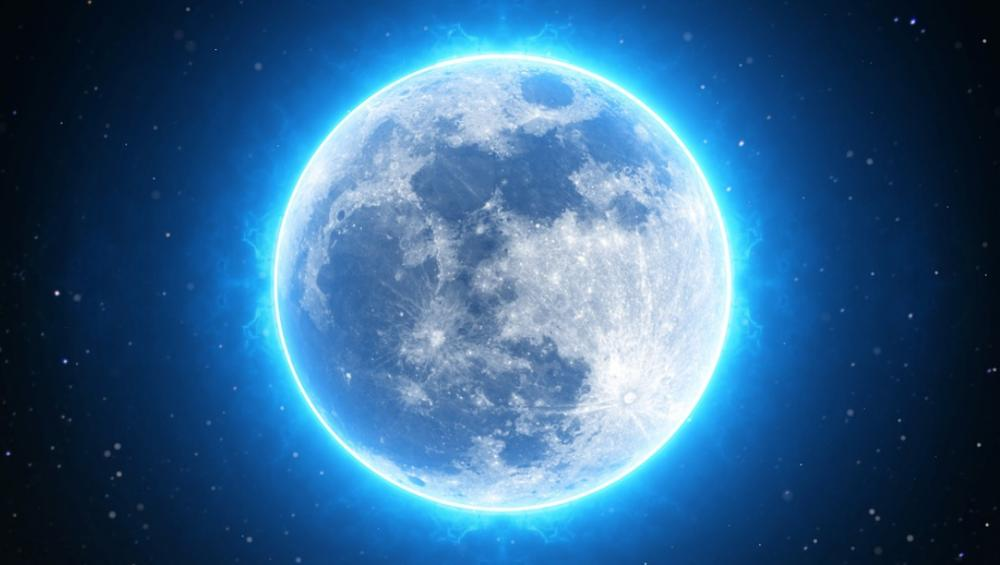 Pełnia Księżyca – październik 2020. Kiedy oglądać Niebieski Księżyc?