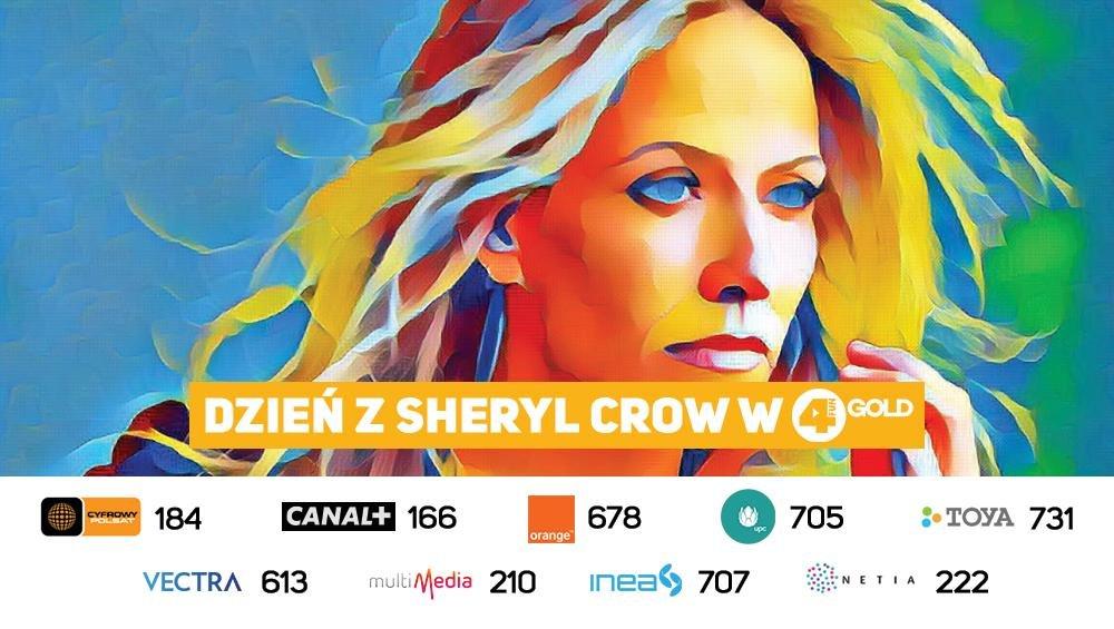 Dzień z Sheryl Crow w 4FUN Gold