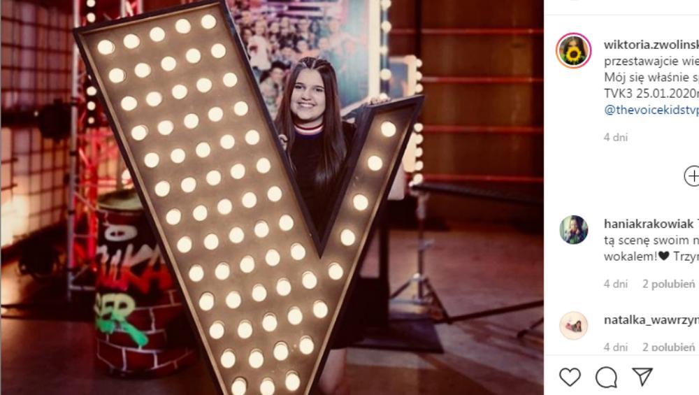 Wiktoria Zwolińska – przyjaciółka Aniki Dąbrowskiej faworytką w The Voice Kids?