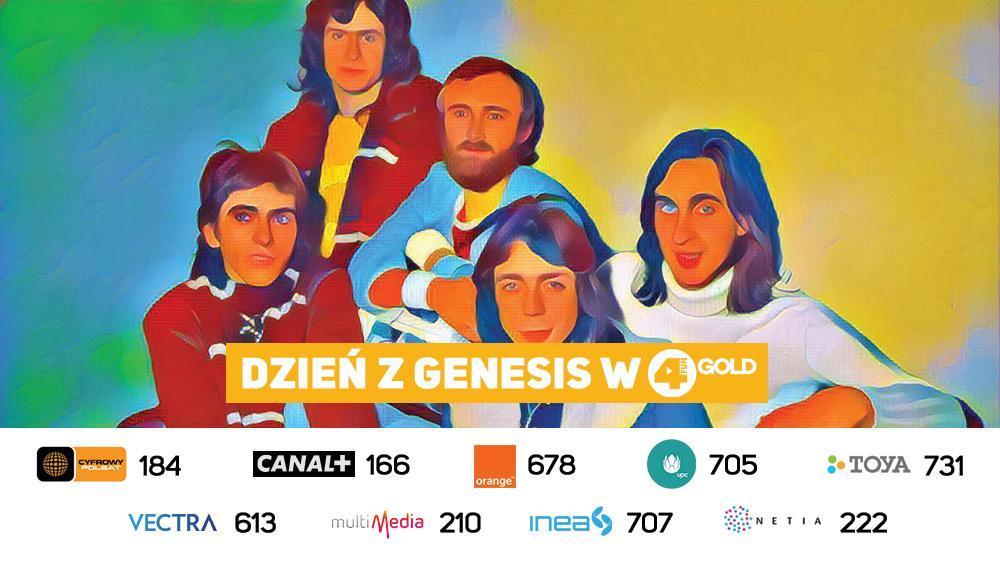 Dzień z Genesis i Phillem Collinsem w 4FUN Gold