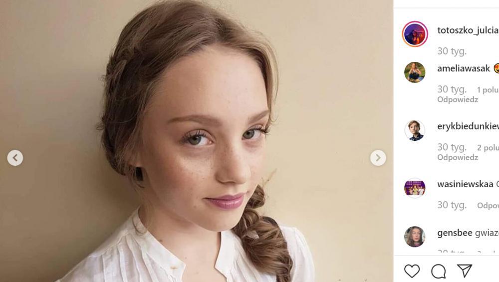 Julia Totoszko to aktorka od 3. roku życia! [WIEK, MIASTO, ROLE]