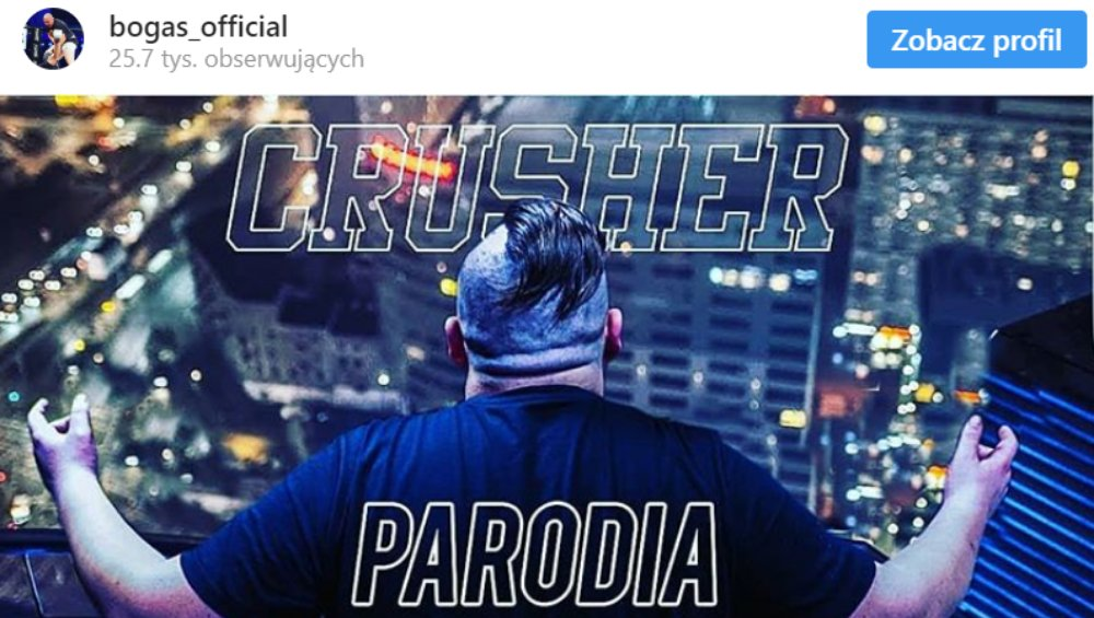 Crusher: KIEŁBASIANA parodia hitu Kacpra Blonsky'ego  [WIDEO]