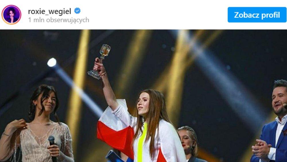 Roksana Węgiel na Eurowizji 2021? Jest komentarz