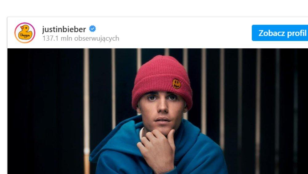 Justin Bieber oskarżony o napaść seksualną. Wydał oświadczenie
