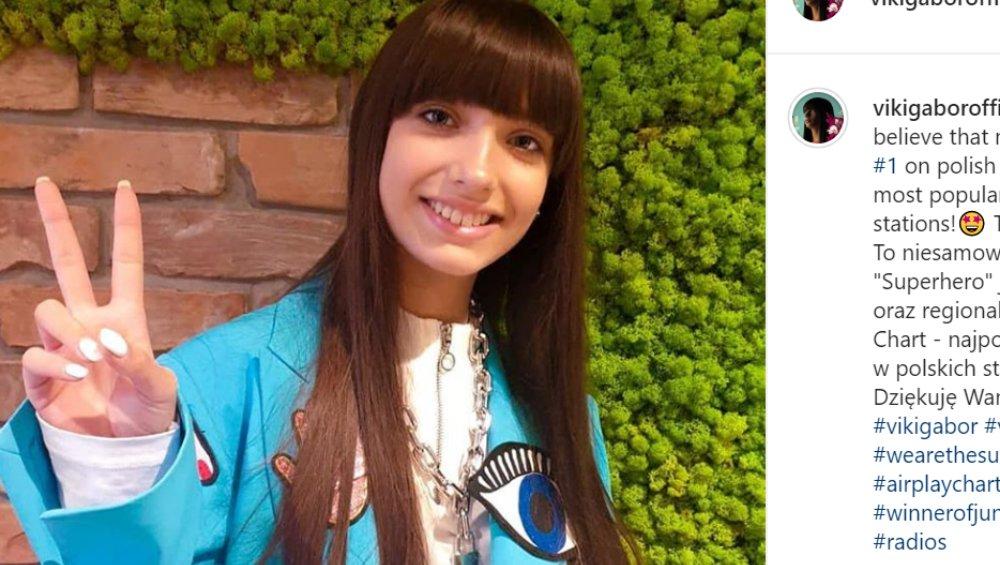 Maseczki Viki Gabor - nowość w merchu 12-letniej artystki