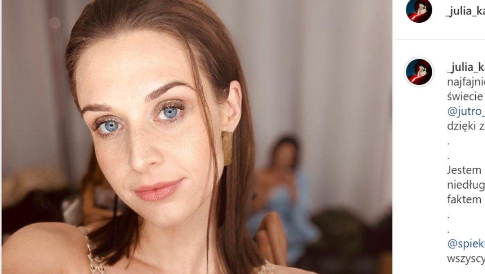 Julia Kamińska doświadczyła molestowania. Szczere wyznanie aktorki