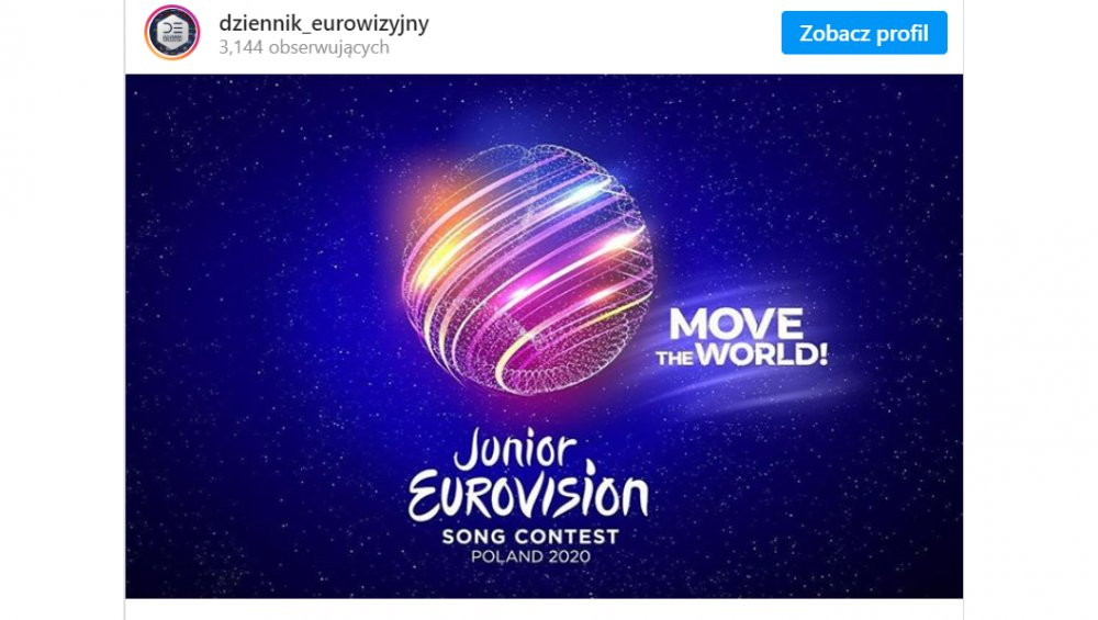 Eurowizja Junior 2020 w Polsce! Znamy miasto, datę i szczegóły