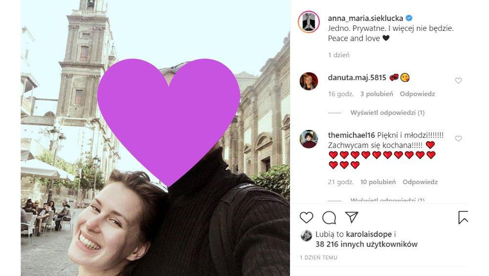 Anna Maria Sieklucka z 365 dni pokazała partnera! [FOTO]