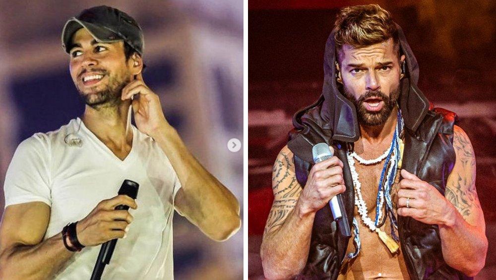 Enrique Iglesias i Ricky Martin na wspólnym koncercie! Tego jeszcze nie było