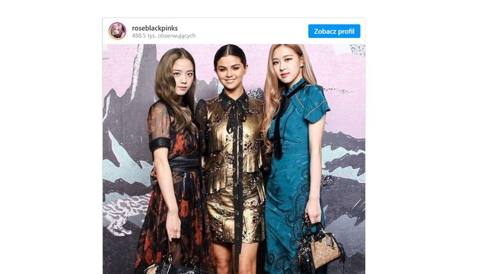 Selena Gomez w duecie z BLACKPINK? Wytwórnia komentuje
