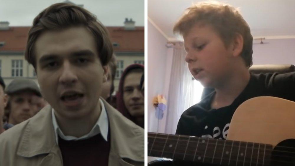 Chłopiec coveruje rapera Matę: 'waliłem wódę przed snem'