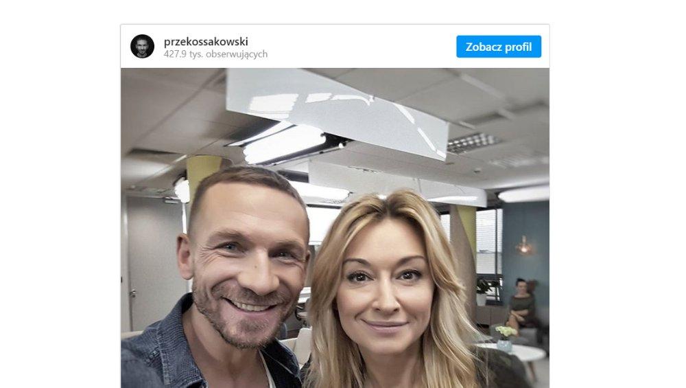 Przemek Kossakowski o rozstaniu z Martyną Wojciechowską. Podróżniczka komentuje jego wpis