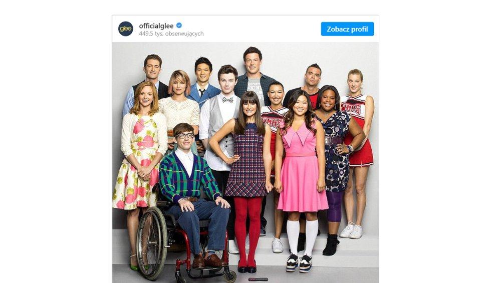 Klątwa Glee - tragiczne losy gwiazd serialu. Samobójstwo, narkotyki, zaginięcie