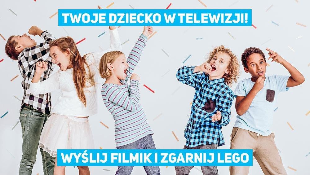 """Wystąp w teledysku """"My jesteśmy żabki"""" i wygraj klocki LEGO!"""