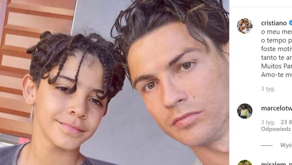10-letni syn Cristiano Ronaldo ma kłopoty? Policja prowadzi dochodzenie