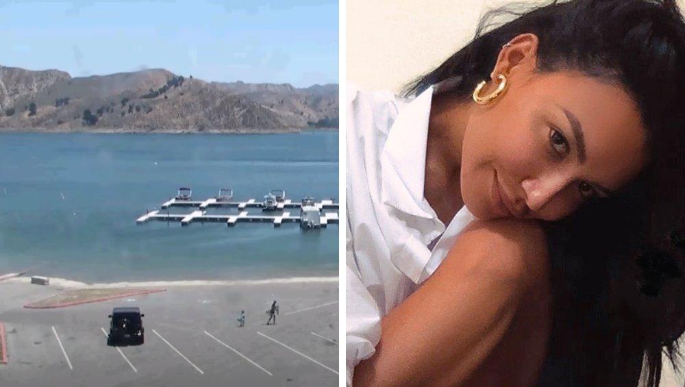 Naya Rivera nadal zaginiona. Kamera uchwyciła jej drogę nad jezioro