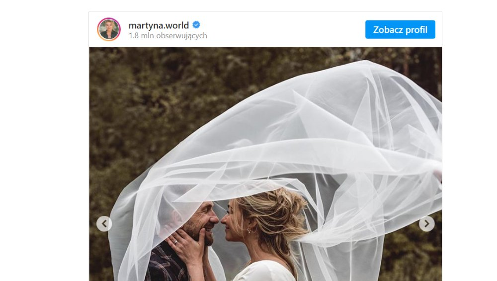 Martyna Wojciechowska wzięła ślub. Zdradziła czy zmieniła nazwisko