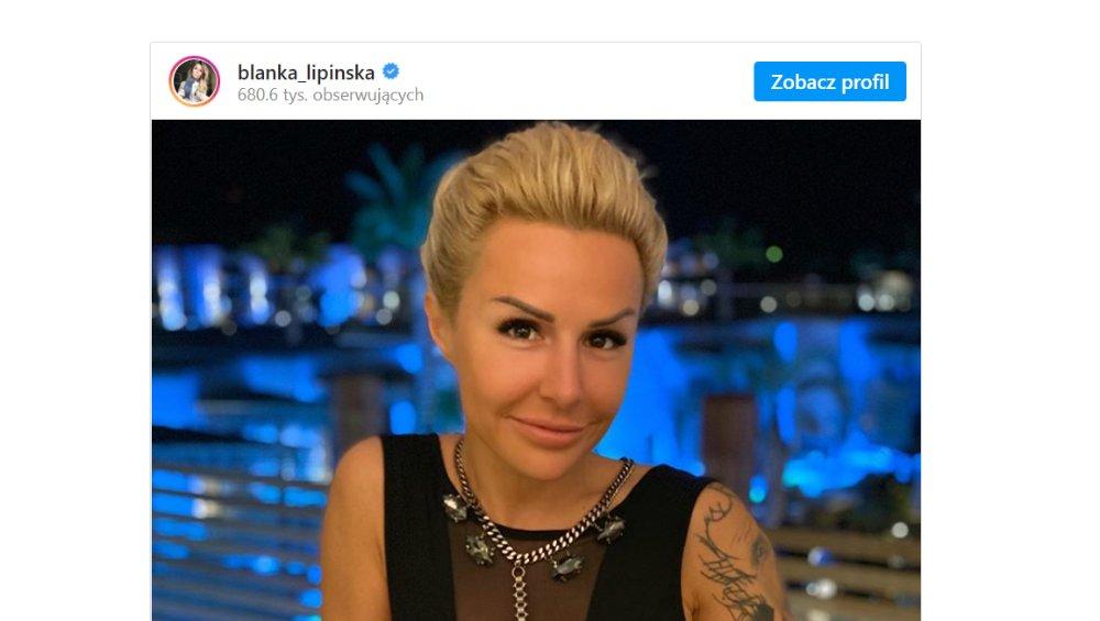 """Blanka Lipińska ma NOWY TATUAŻ! """"Pierwszy raz będzie dla mnie coś symbolizował"""""""