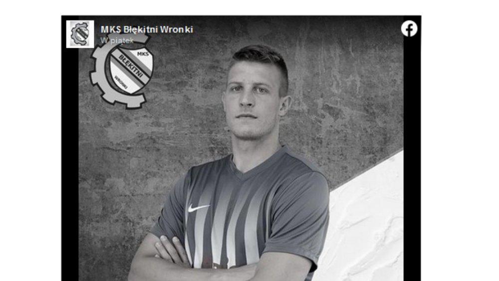 Polski piłkarz nie żyje. Bartosz Nowak zginął tragicznie