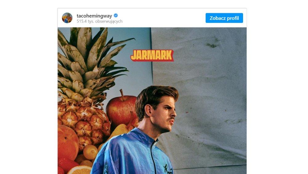 Taco Hemingway: nowa płyta Jarmark już w sieci! Gdzie słuchać?