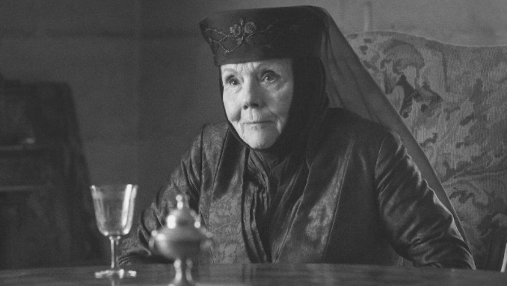 Lady Tyrell z Gry o Tron nie żyje. Diana Rigg przegrała walkę z chorobą
