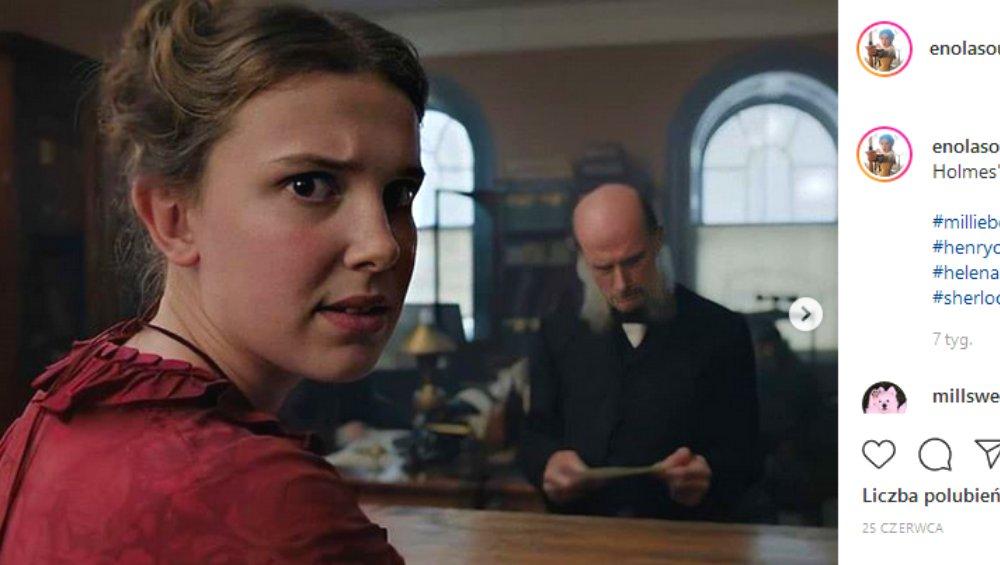 Enola Holmes: pozew dla nowego filmu Netflixa. Poszło o rolę Henry'ego Cavilla