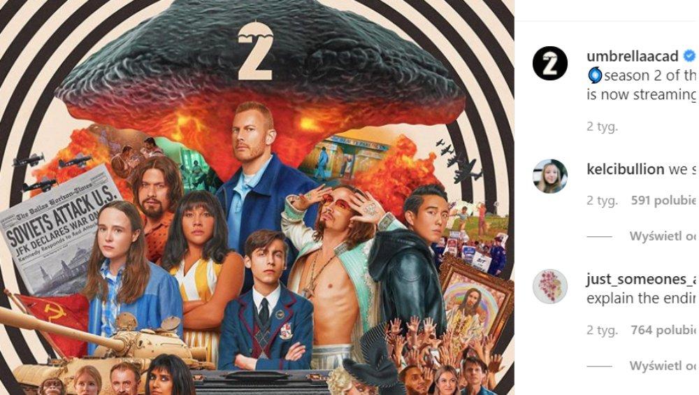 The Umbrella Academy 2: soundtrack. Te piosenki znalazły się w serialu